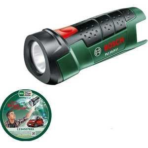 Фонарь аккумуляторный Bosch PLI 10.8 LI без аккумулятора и з/у (0.603.9A1.000) аккумуляторный перфоратор bosch gbh 180 li 4 0ач x2 0611911023