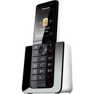 Радиотелефон Panasonic KX-PRS110RUW атс panasonic kx tem824ru аналоговая 6 внешних и 16 внутренних линий предельная ёмкость 8 внешних и 24 внутренних линий