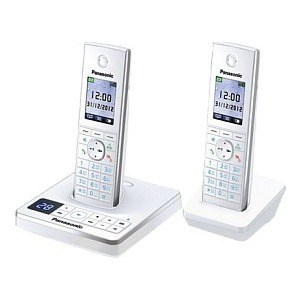 Радиотелефон Panasonic KX-TG8562RUW радиотелефон panasonic kx prx150 kx prx150rub