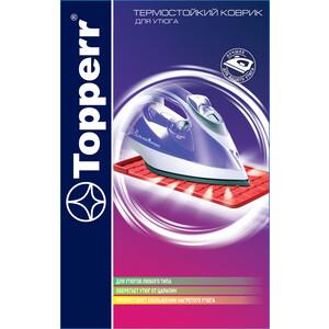 Topperr IR 4 Термостойкий коврик для утюга аксессуар коврик для утюга topperr ir 4