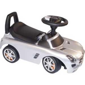 Каталка Amalfy ''Mercedes-Benz SLS AMG'' (серебряный) 332