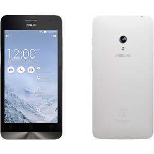 Чехол Asus Zenfone 5 белый клип кейс чехлы для телефонов skinbox клип кейс asus zenfone c zc451cg