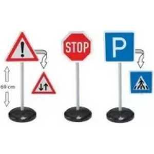 BIG Игрушечные дорожные знаки - 3 шт. 1199 фигурки игрушки лэм дорожные знаки