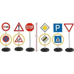 BIG Игрушечные дорожные знаки - 6 шт. 1198 дорожные плиты б у