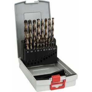 Набор сверл по металлу Bosch 1.0-10.0мм 19шт ProBox HSS-CO (2.608.587.014) набор сверл по металлу bosch standard hss co din 338 5 шт