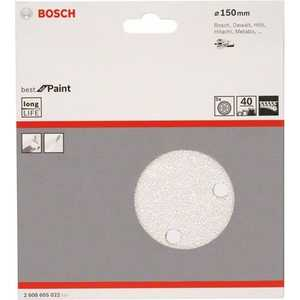 Шлифкруг Bosch 150мм К40 5шт Best for Paint (2.608.605.022)