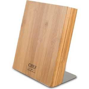Подставка для ножей Chef CH-002/BAM подставка для 6 ти ножей chef с магнитными держателями цвет серый ch 001 gr