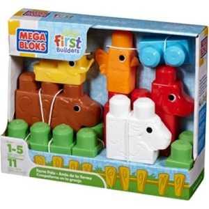 Mega Bloks Набор кубиков Зоопарк 08423(08444)
