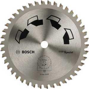 Диск пильный Bosch 65х15мм 20зубьев Special (2.609.256.C83)  пильный диск bosch 256х30мм 2608641795