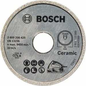 Диск алмазный Bosch 65х15мм Standard for Ceramic (2.609.256.425) 20mm ceramic