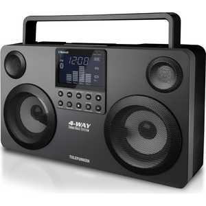 Портативная колонка TELEFUNKEN TF-SRP3470 grey hi rice 1 2 lcd portable media player speaker w usb 2 0 tf fm clock calendar torch black