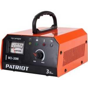 Зарядное устройство PATRIOT BCI-20M  импульсное зарядное устройство patriot bci 20m 650303420