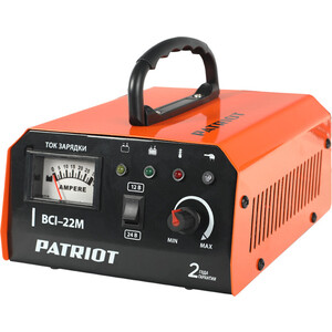 Зарядное устройство PATRIOT BCI-22M  импульсное зарядное устройство patriot bci 20m 650303420