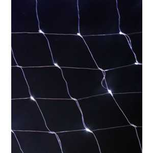 Light Светодиодная сеть тепл. белая 2x2 прозрачный провод