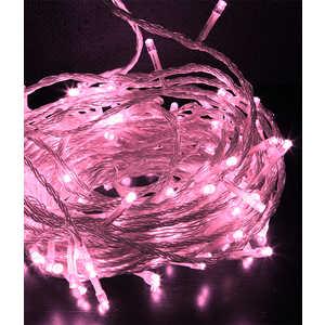 Гирлянда светодиодная Light Нить с возможностью динамики 20 м светло розовая 24V прозрачный провод