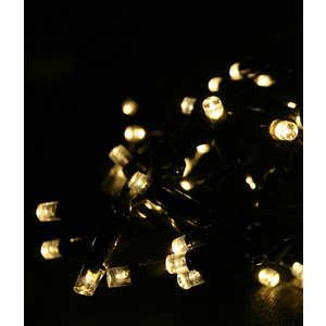 Гирлянда Light Светодиодная нить 10 м тепл. Белая 75 led 24V чёрный провод гирлянда light светодиодная нить rgb 10 м 24v чёрный провод