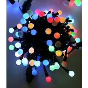 �������� ������������ Light Fiesta small ball RGB 100 led, 220V ������ PVC ������
