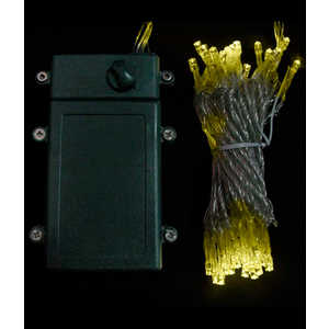 Гирлянда светодиодная Light Нить на батарейках 5 м шампань 4,5V прозрачный провод
