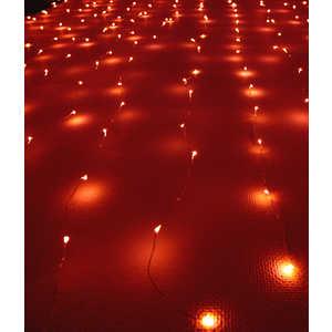 Светодиодный занавес Light ''Роса'' 1,6x1,6 красный 12V