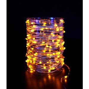 Гирлянда светодиодная нить Light ''Роса'' желтая 10 м 12V.