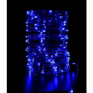 Гирлянда светодиодная нить Light ''Роса'' синяя 10 м 12V.