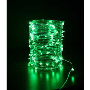 Гирлянда светодиодная нить Light ''Роса'' зеленая 10 м 12V.