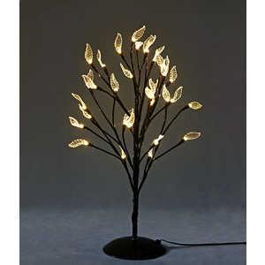 Светодиодная композиция Light ''Бонсай'' с листьями оранжевый 45 см, 32 led