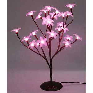 Светодиодная композиция Light ''Цветок Плюмерии'' розовый 45 см, 24 led