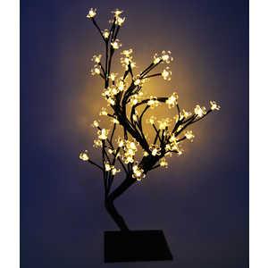Светодиодная композиция Light ''Бонсай'' цветки сакуры теплый белый 60 см, 96 led
