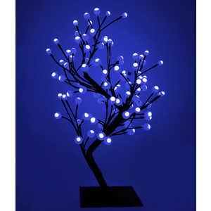 Светодиодная композиция Light ''Бонсай'' шарики синий 60 см, 96 led.