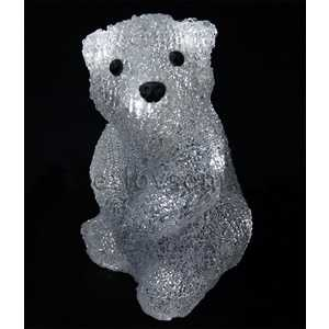 Светодиодная фигура Light ''Медвежонок'' D 20 см, 16 led, 3АА