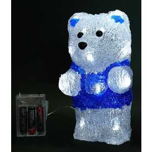 Светодиодная фигура на батарейках Light ''Медвежонок Умка'' 23 см, 18 led, 3АА