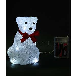 Светодиодная фигура на батарейках Light ''Медвежонок'' A 16 см, 16 led, 3АА