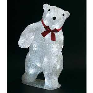 Светодиодная фигура Light ''Медведь'' 36 см, 40 led, 220/24V