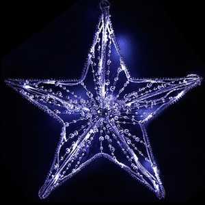 Light Звезда светодиодная c бусинами 40 см 24V