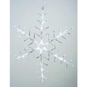 Светодиодная фигура Light ''Снежинка'' 50x50cm 24 led , 220/24v