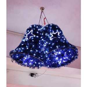 Светодиодная фигура Light ''Колокола'' 1 м.х0,5 м.x0,7 м, 24V белый, синий