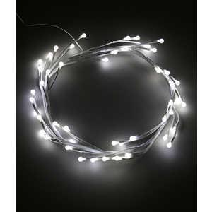 Светодиодная композиция Light ''Венок-ветка'', 30 см, 24V, белый провод