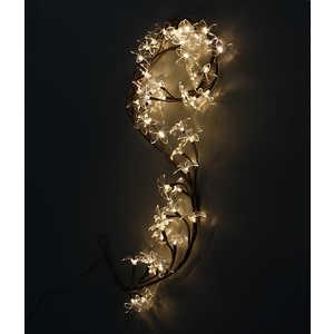 Светодиодная композиция Light ''Ветка Плюмерии'' прозрачные цветы 1,5 м