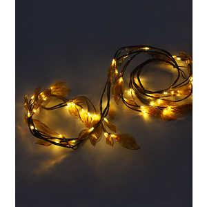 Светодиодная композиция Light ''Ветка с листьями'' коричневые листья 1,8 м белый провод