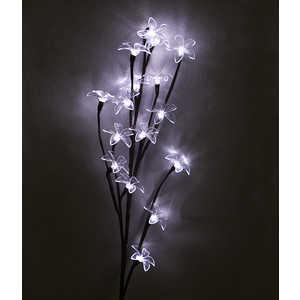 Light Ветка Сакуры на батарейках теплый белый 100 см, белый провод