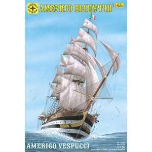 Моделист Модель корабль Америго Веспуччи (1:150) 115060 корабль моделист санта мария колумба 1 150 115002