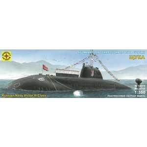 Моделист Модель подводная лодка проекта 671РТМК Щука (1:350) 135078