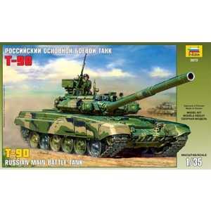 Звезда Модель Российский основной боевой танк Т-90 3573 танк звезда российский основной боевой т 90 1 35 3573