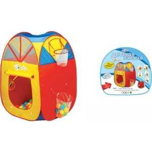 Палатка игровая Shantou Gepai с кольцом и корзиной 889-72B цена