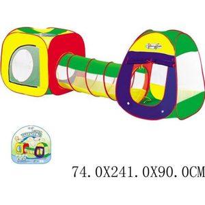 Комплекс игровой Shantou Gepai 2 палатки с туннелем 889-7B палатки тентовые пивные цена в украине
