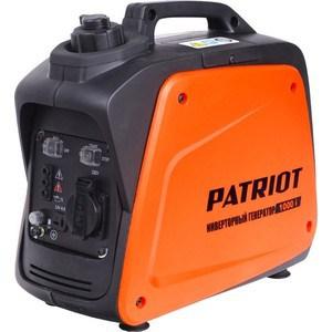 Генератор бензиновый инверторный PATRIOT 1000i генератор бензиновый patriot gp 6510