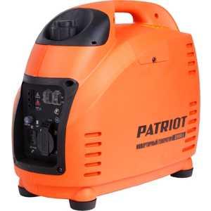 Генератор бензиновый инверторный PATRIOT 2000i генератор бензиновый patriot gp 6510
