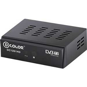Тюнер DVB-T D-Color DC1201HD Eco