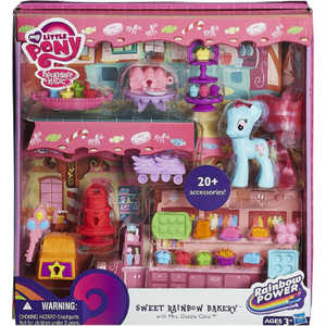 Мини-игровой набор My Little Pony My Little Pony Rainbow Power Рэйнбоу кафе HA8212